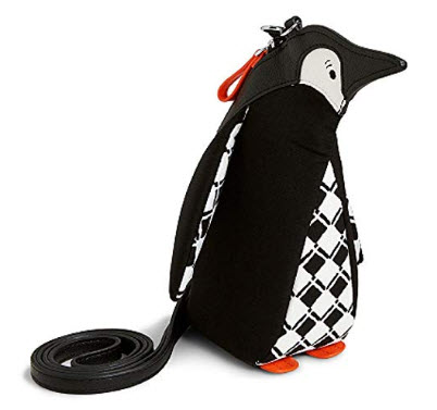 Vera Bradley Penguin Novelty Crossbody in Penguin Check