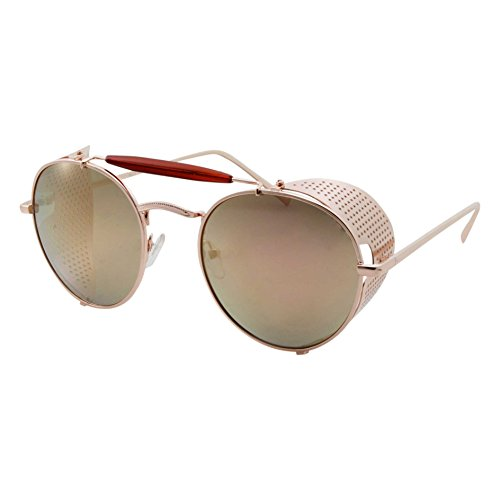 Vintage Retro Circle Steampunk Sunglasses Glasses by grinderPUNCH