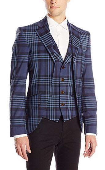 Vivienne Westwood Men's Democrat Waistcoat Jacket.