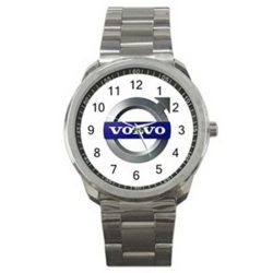 Volvo Car Automobile Logo #A Sport Metal Watch