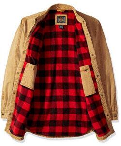 Walls Men's Bandera Vintage Duck Shirt Jacket Big-Tall, pecan