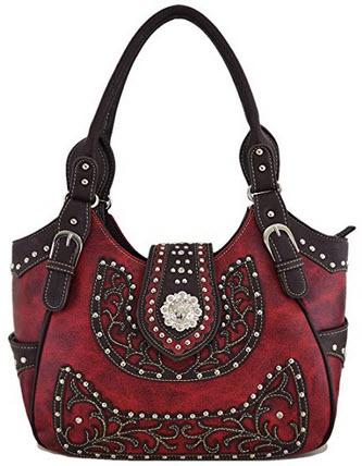 Western Style Cowgirl Belts Buckle Country Purse Crossbody Handbag Women Hobo Shoulder Bag Walle ...