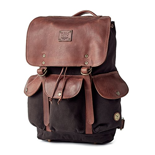 Will Leather Goods Signature Collection 18 oz Waxed Canvas Lennon Backpack
