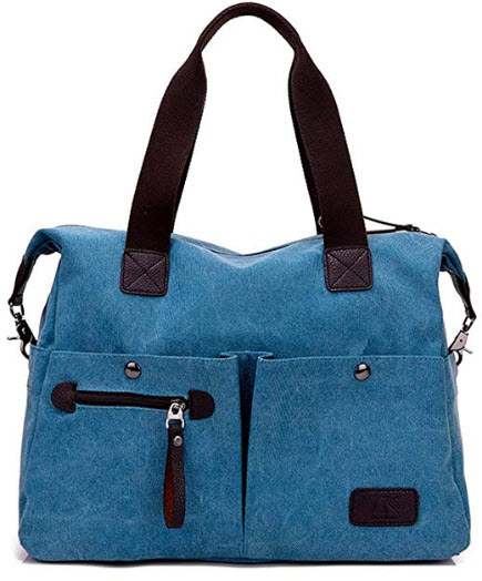 Women Men Bags Casual Vintage Hobo Canvas Purse Big Messenger Top Handle Shoulder Tote Shopper H ...