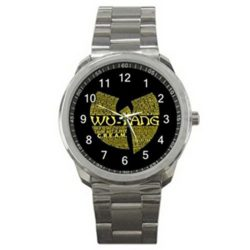 Wu Tang Clan Rap Hip Hop Logo #A Sport Metal Watch