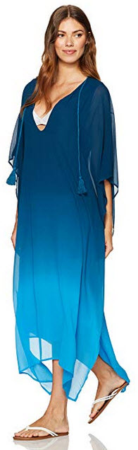 Young Fabulous & Broke Women's Coronado Coverup  Pool Blue Ombre