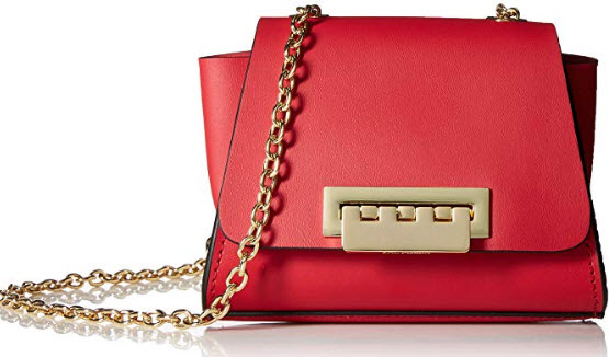 ZAC Zac Posen Eartha Mini Chain Crossbody-Chili Pepper