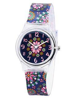 Zeiger Kids Children Watch Time Teacher Watch with Silicon Band