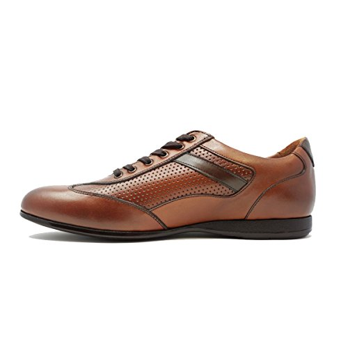 Zep Shoes Handmade Leather Fashion Casual For All Occasions Lace up Fashion Sneakers