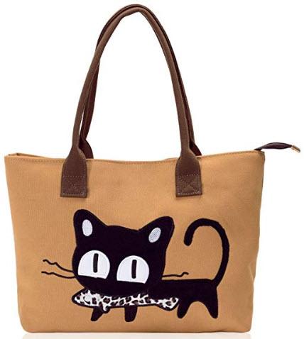 ZIIPOR Large Canvas Shoulder Bag Tote Bags Top Handle Satchel Handbag Designer Purses for Women, ...